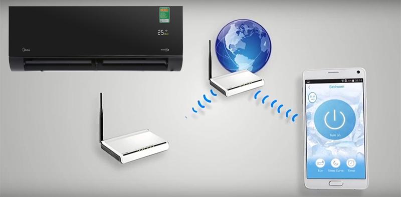 Điều khiển từ xa thông minh qua Wifi