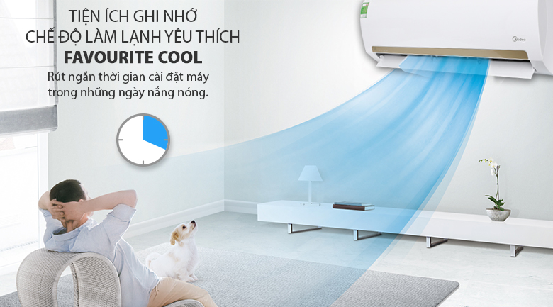 Favourite cool - Máy lạnh Midea 1 HP MSMA3-10CRN1