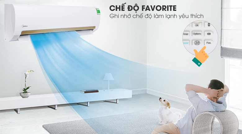 Favourite Cool - Máy lạnh Midea 2 HP MSMA3-18CRN1