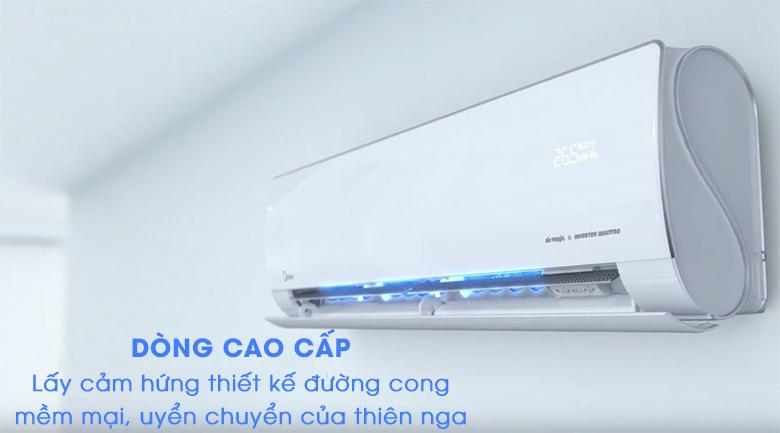 Kiểu dáng - Máy lạnh 2 chiều Midea Inverter 1.5 HP MSMT-13HRFN8