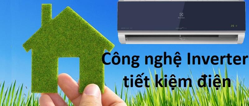 Tiết kiệm điện năng nhưng vẫn đảm bảo khả năng vận hành êm ái, bền bỉ với công nghệ Inverter