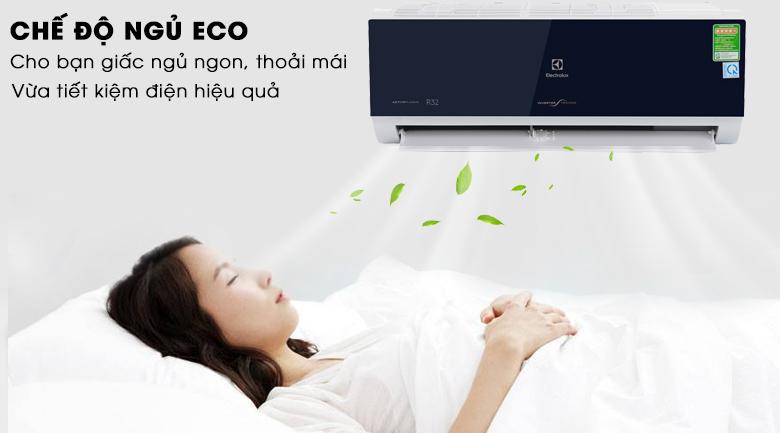 Chế độ ngủ ECO - Máy lạnh Electrolux Inverter 1.5 HP ESV12CRO-D1