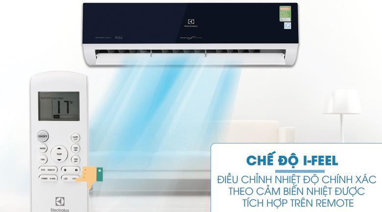 Cảm ứng iFeel - Máy lạnh Electrolux Inverter 2 HP ESV18CRO-D