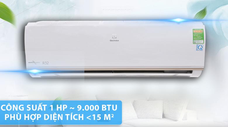 Thiết kế máy lạnh Electrolux Inverter 1 HP ESV09CRO-A1