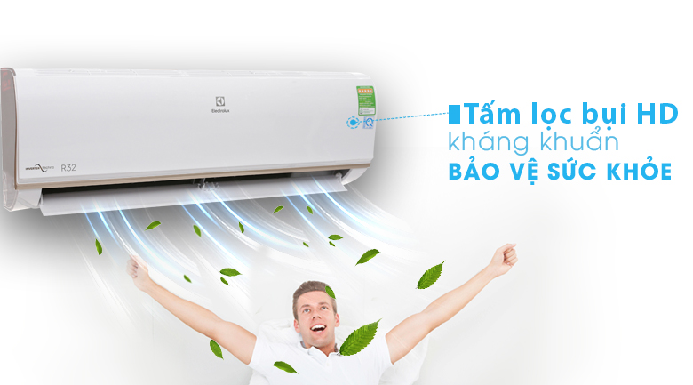 Tấm lọc bụi HD - Máy lạnh Electrolux Inverter 1 HP ESV09CRO-A1