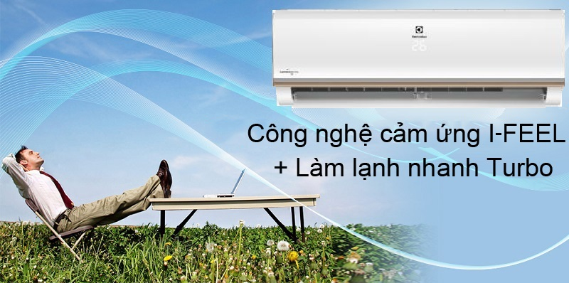 I-Feel & Turbo - Máy lạnh Electrolux Inverter 1 HP ESV09CRO-A1