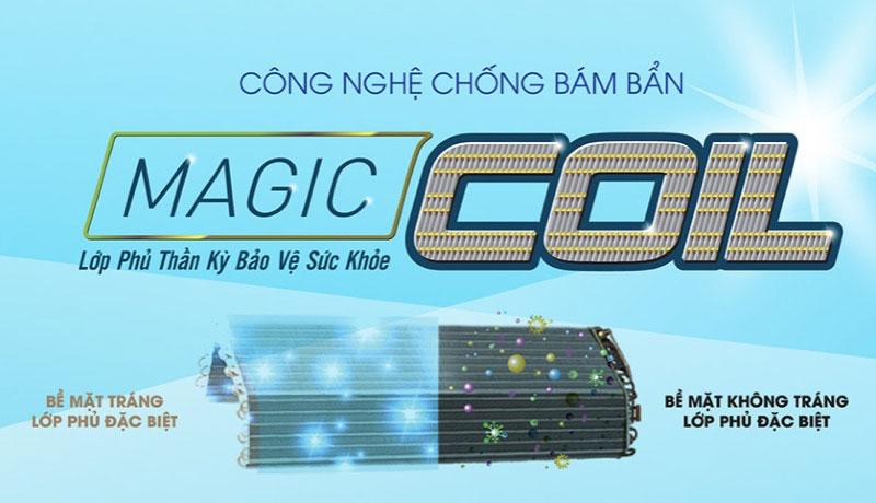 Công nghệ chống bám bẩn Magic Coil