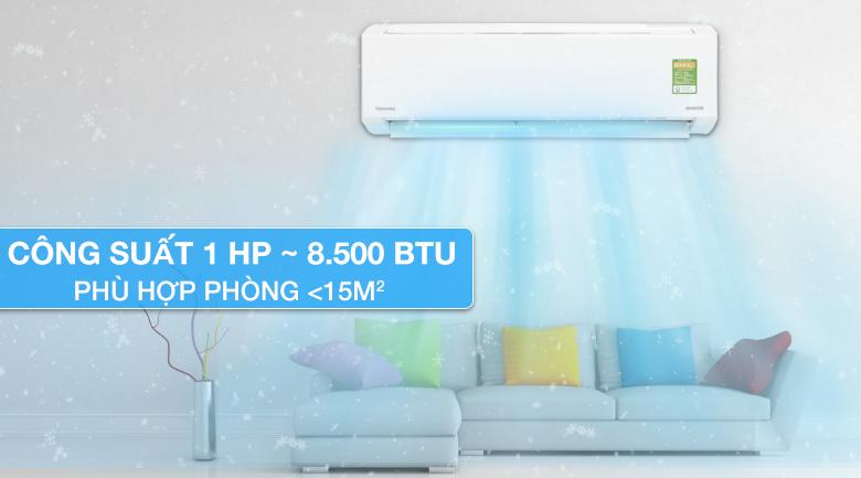 Thiết kế máy lạnh Toshiba Inverter 1 HP RAS-H10DKCVG-V