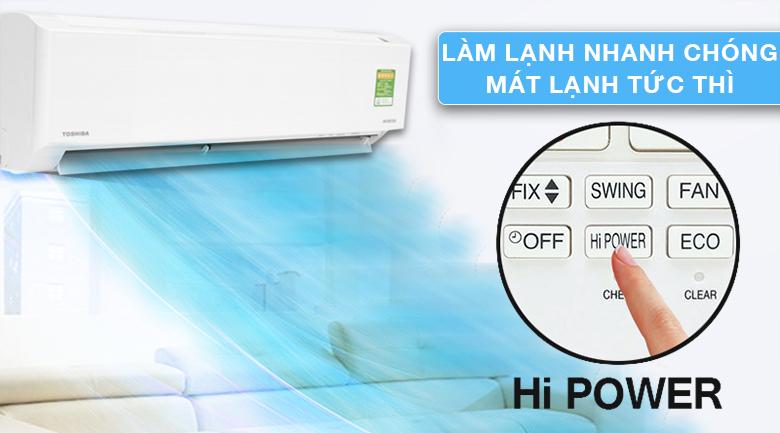 Hi Power - Máy lạnh Toshiba Inverter 1 HP RAS-H10DKCVG-V