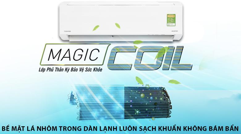 Magic Coil - Máy lạnh Toshiba Inverter 1 HP RAS-H10DKCVG-V