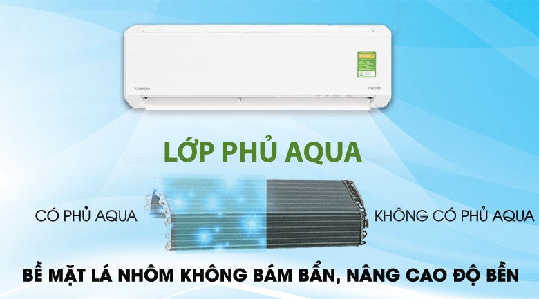 Magic Coil - Máy lạnh Toshiba Inverter 1 HP RAS-H10DKCVG-V