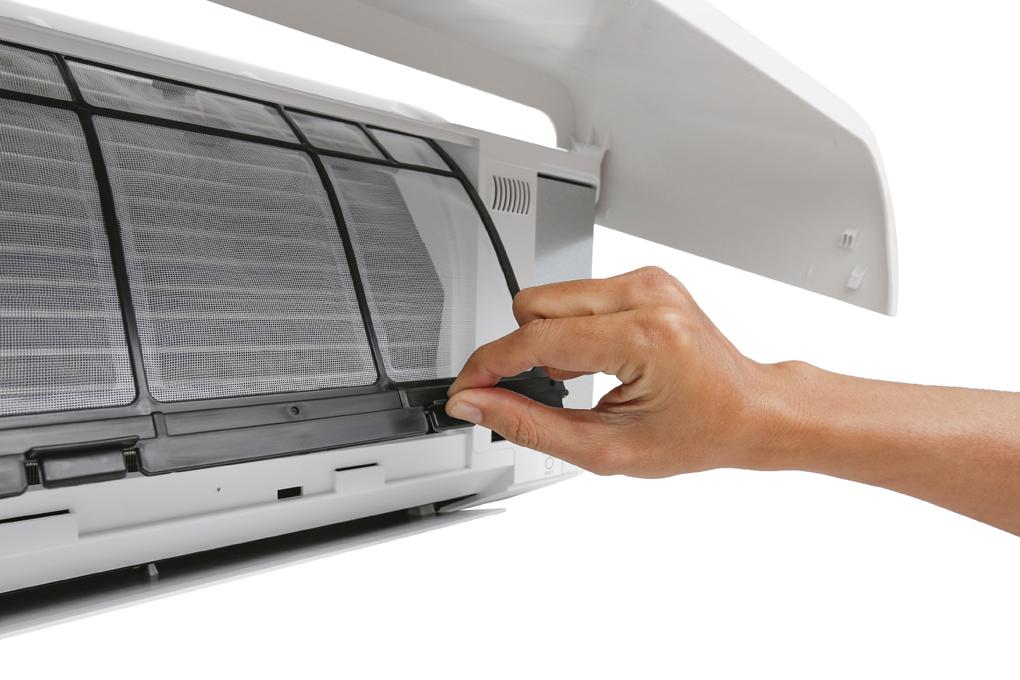 Màng lọc bụi chống nấm mốc - Máy lạnh Toshiba Inverter 1.5 HP RAS-H13CKCVG-V