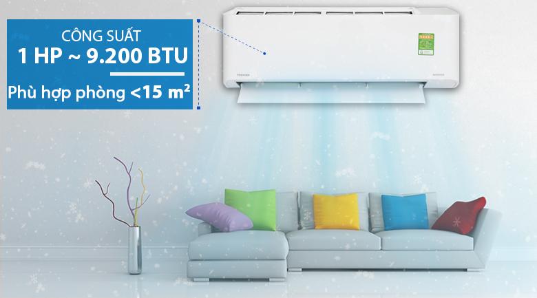Máy lạnh Toshiba Inverter 1 HP RAS-H10PKCVG - V