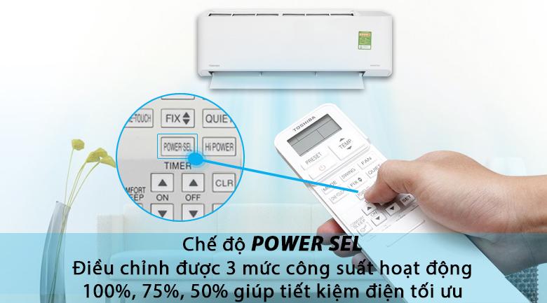 PowerSel - Máy lạnh Toshiba Inverter 1 HP RAS-H10PKCVG - V