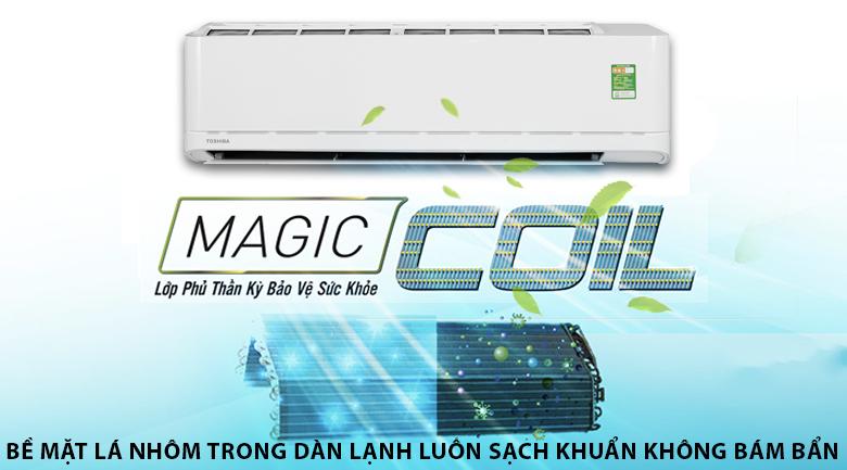 Công nghệ Magic Coil - Máy lạnh Toshiba 2 HP RAS-H18U2KSG-V