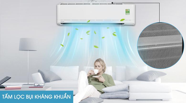 Tấm lọc bụi - Máy lạnh Toshiba 2 HP RAS-H18U2KSG-V