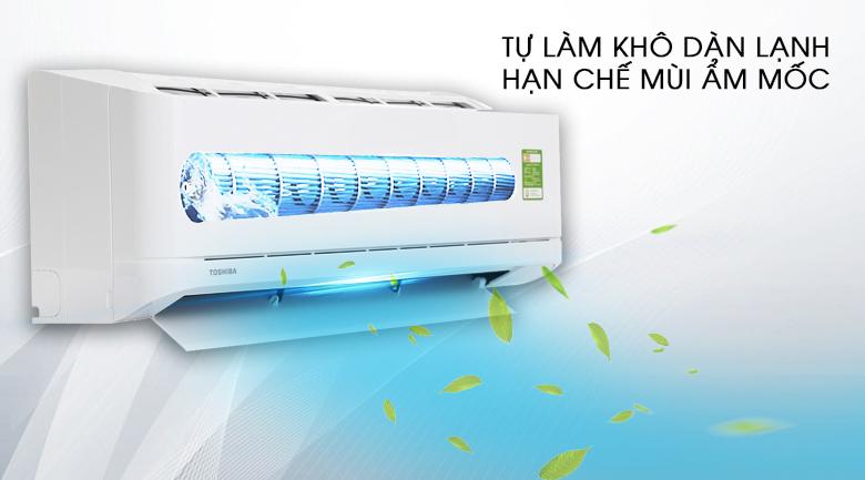 Chế độ tự làm khô dàn lạnh - Máy lạnh Toshiba 2 HP RAS-H18U2KSG-V