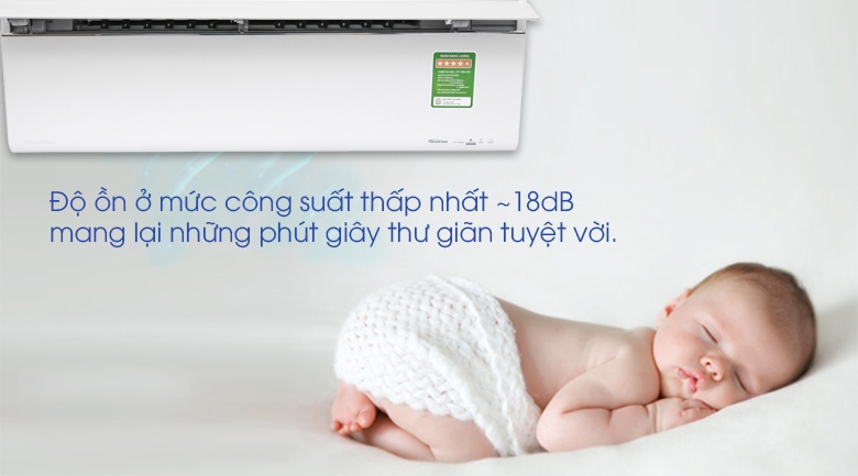 Vận hành siêu êm - Máy lạnh Panasonic Inverter 1 HP CU/CS-VU9UKH-8