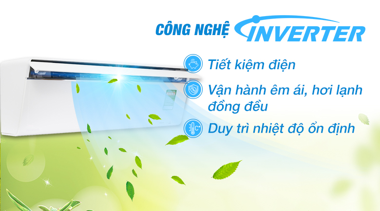 Inverter - Máy lạnh Panasonic Inverter 2 HP CU/CS-VU18UKH-8