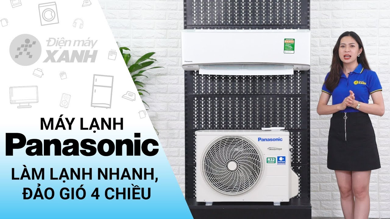 Máy lạnh Panasonic Inverter 1 HP CU/CS-XU9UKH-8