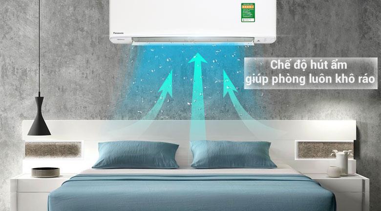 Chế độ hút ẩm - Máy lạnh Panasonic Inverter 1 HP CU/CS-XU9UKH-8