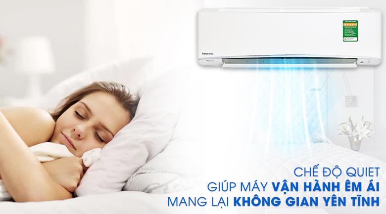Hoạt động siêu êm - Máy lạnh Panasonic Inverter 1 HP CU/CS-XU9UKH-8