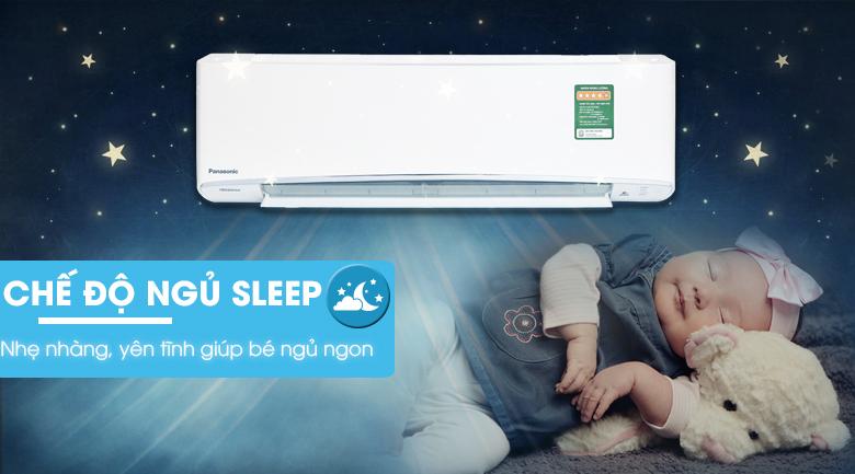 Chế độ ngủ ngon - Máy lạnh Panasonic Inverter 1.5 HP CU/CS-XU12UKH-8