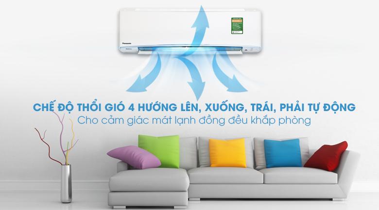 Thổi gió 4 chiều - Máy lạnh Panasonic Inverter 2.5 HP CU/CS-XU24UKH-8