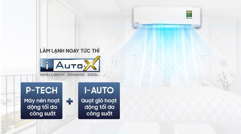 iAutoX - Máy lạnh Panasonic Inverter 2.5 HP CU/CS-XU24UKH-8