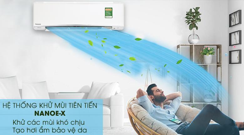 NanoeX - Máy lạnh Panasonic Inverter 2.5 HP CU/CS-XU24UKH-8