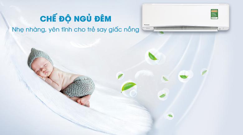 Chế độ ngủ đêm - Máy lạnh Panasonic Inverter 2.5 HP CU/CS-XU24UKH-8