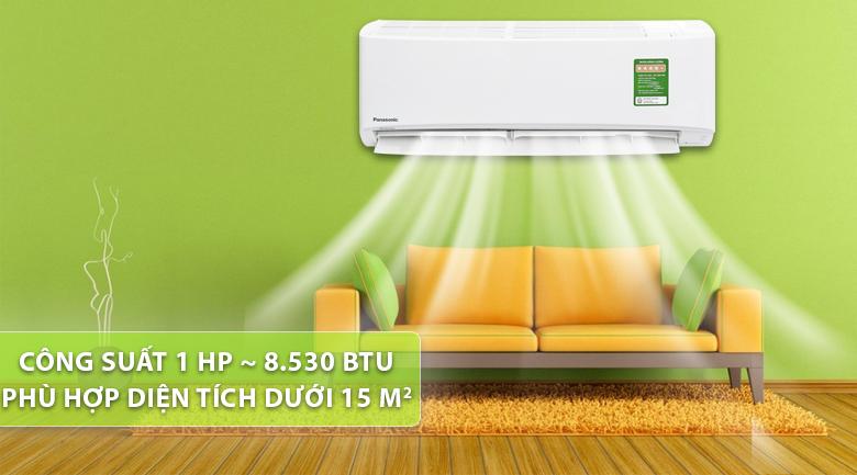 Thiết kế máy lạnh Panasonic Inverter 1 HP CU/CS-PU9UKH-8