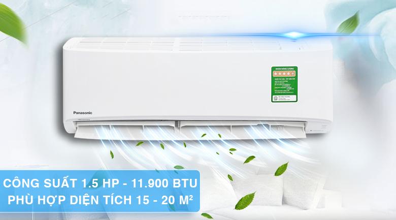 Thiết kế máy lạnh Panasonic Inverter 1.5 HP CU/CS-PU12UKH-8