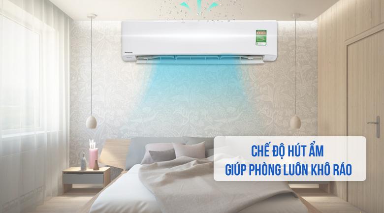 Chức năng hút ẩm - Máy lạnh Panasonic Inverter 2 HP CU/CS-PU18UKH-8