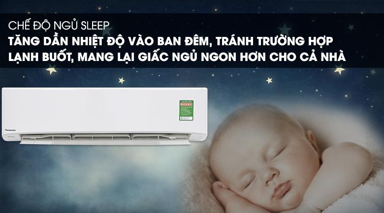 Chế độ ngủ - Máy lạnh Panasonic Inverter 2 HP CU/CS-PU18UKH-8
