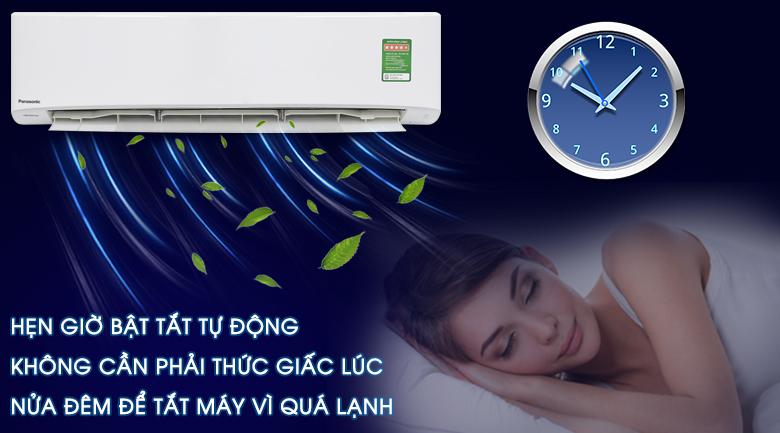 Chế độ hẹn giờ bật tắt - Máy lạnh Panasonic Inverter 2 HP CU/CS-PU18UKH-8