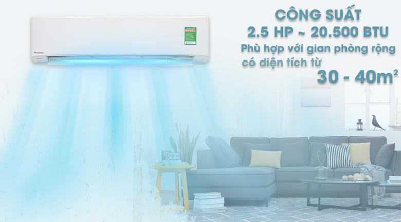 Máy lạnh Panasonic Inverter 2.5 HP CU/CS-PU24UKH-8