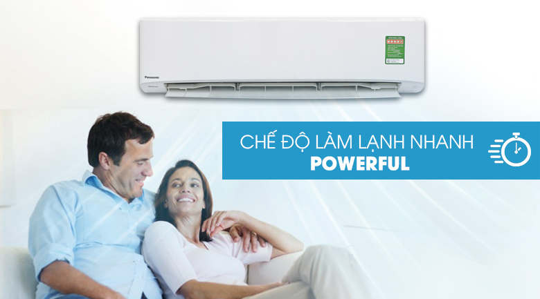 Powerful - Máy lạnh Panasonic Inverter 2.5 HP CU/CS-PU24UKH-8