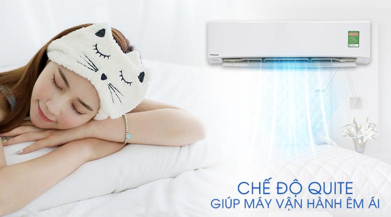 Vận hành siêu êm - Máy lạnh Panasonic Inverter 2.5 HP CU/CS-PU24UKH-8