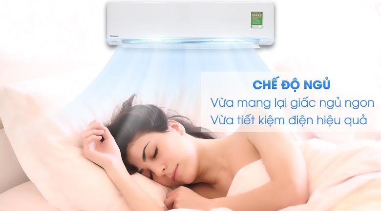 Chế độ ngủ đêm - Máy lạnh Panasonic Inverter 2.5 HP CU/CS-PU24UKH-8