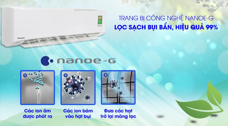 Công nghệ Nanoe-G - Máy lạnh Panasonic Inverter 2.5 HP CU/CS-PU24UKH-8
