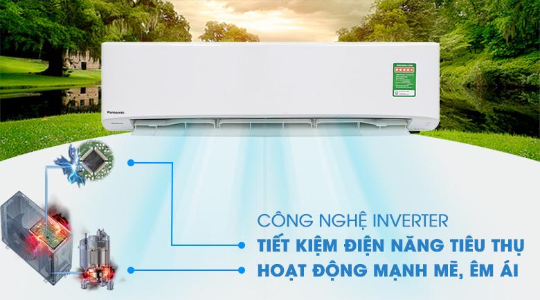 Inverter - Máy lạnh Panasonic Inverter 2.5 HP CU/CS-PU24UKH-8