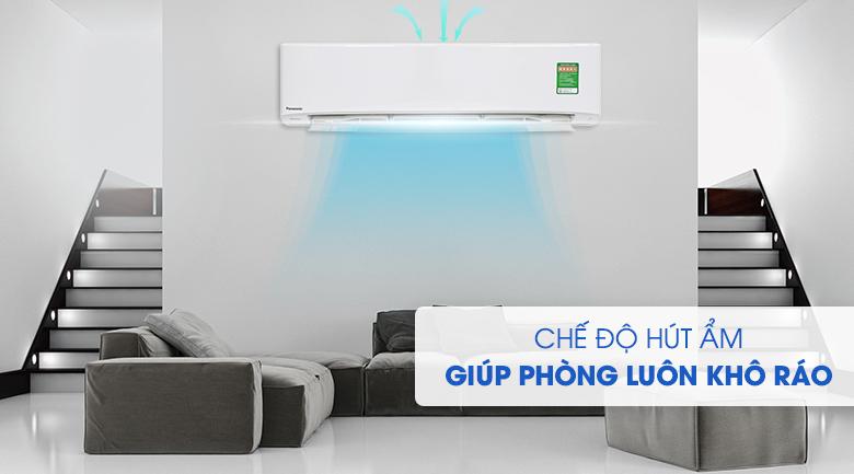 Máy lạnh Panasonic Inverter 2.5 HP CU/CS-PU24UKH-8 hút ẩm