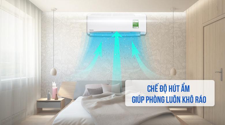 Chức năng hút ẩm - Máy lạnh Panasonic 1 HP CU/CS-N9UKH-8
