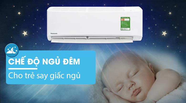 Chế độ ngủ đêm - Máy lạnh Panasonic 1 HP CU/CS-N9UKH-8