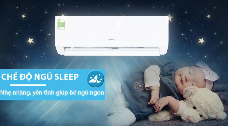 Chế độ ngủ sleep - Điều hòa treo tường Gree GWC12QC-K3NNB2H 1.5HP
