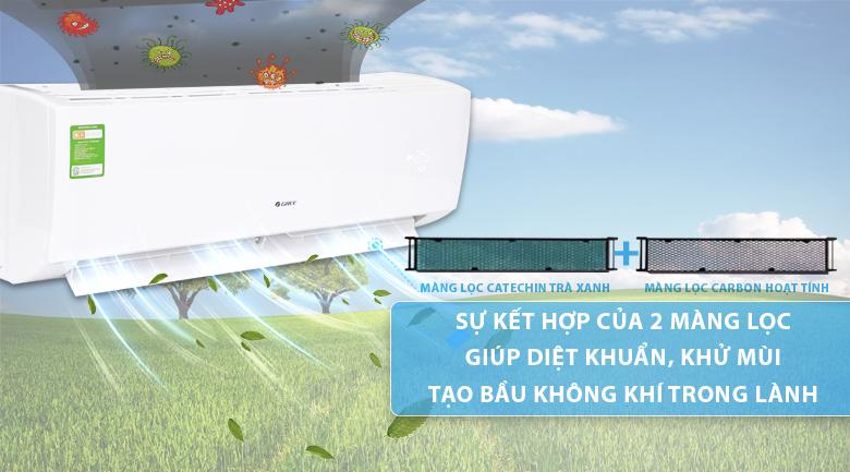 Điều hòa treo tường Gree GWC12QC-K3NNB2H 1.5HP - Kháng khuẩn hiệu quả