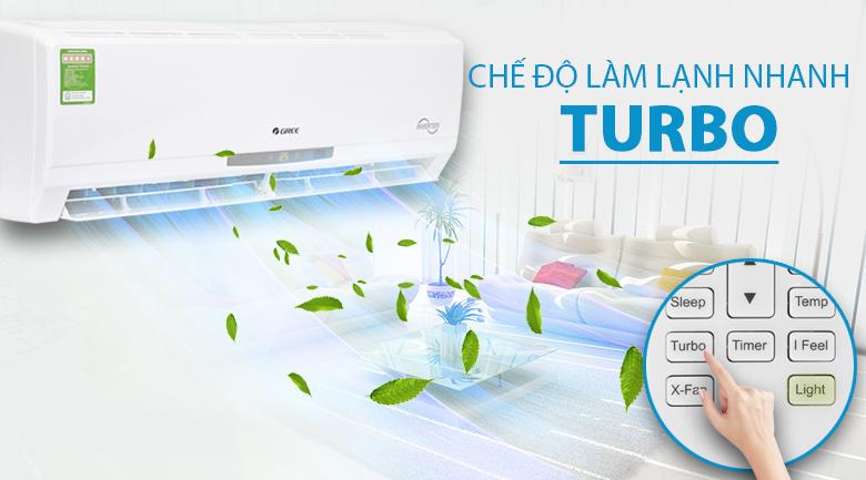Turbo - Máy lạnh Gree Inverter 1 HP GWC09CA-K3DNC2I