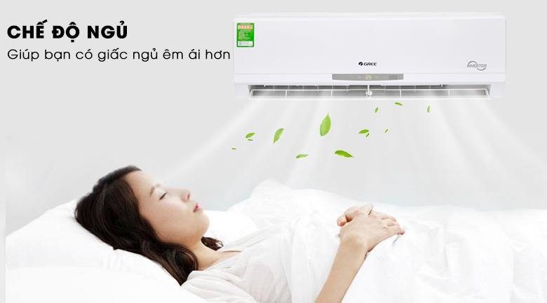Chế độ ngủ - Máy lạnh Gree Inverter 1.5 HP GWC12CA-K3DNC2I