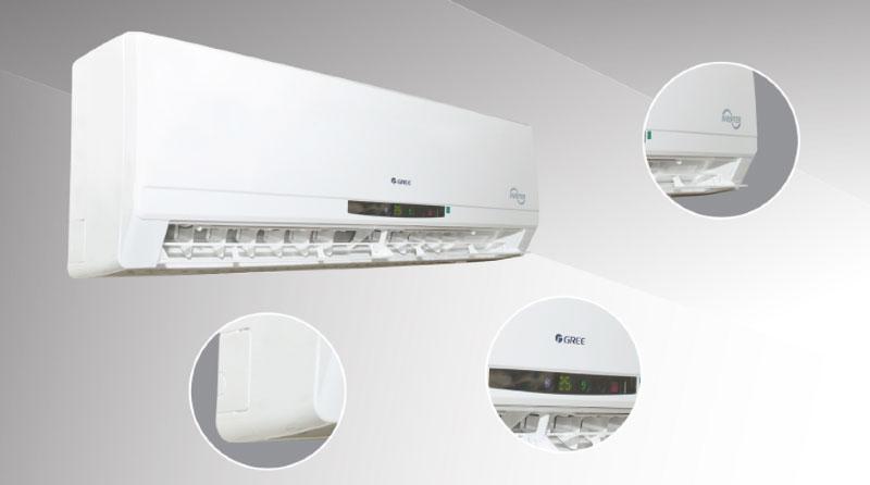 Thiết kế trang nhã, thanh lịch - Máy lanh Gree Inverter 2 HP GWC18CC-K3DNC2L